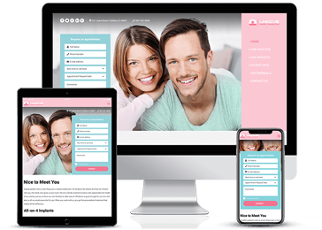 Dental Clinic Responsive Website Example