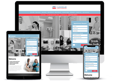 Family Dentistry Responsive Website by Unique Dental Marketing